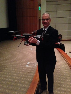 J. Garland Thurman with the Kentwood Real Estate Drone