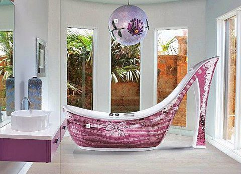 High Heel Bath Tub