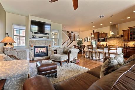 Living Room #2 9920 RidgeGate Parkway at RidgeGate in Lone Tree Colorado