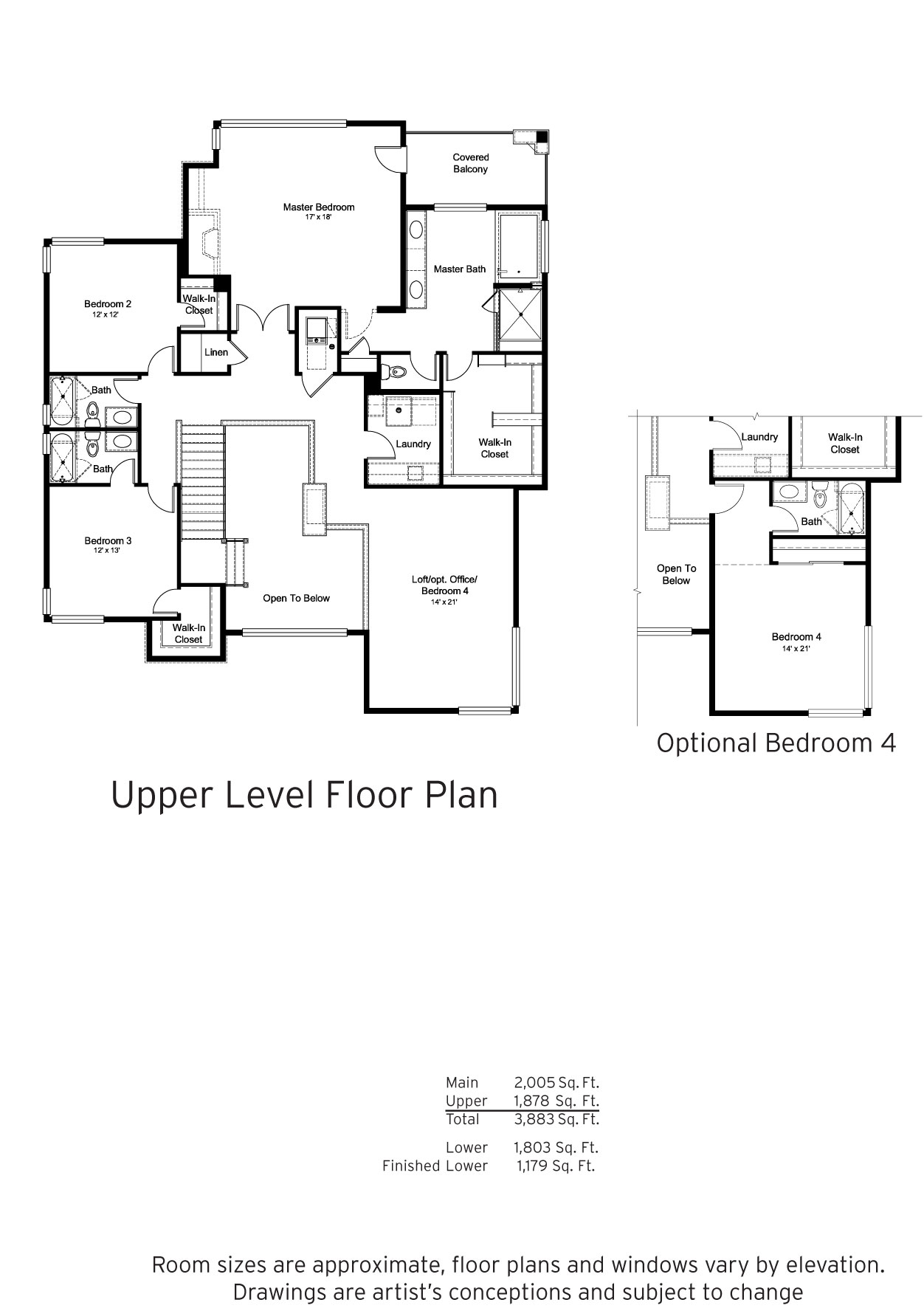 NorthSky at RidgeGate Plan 4