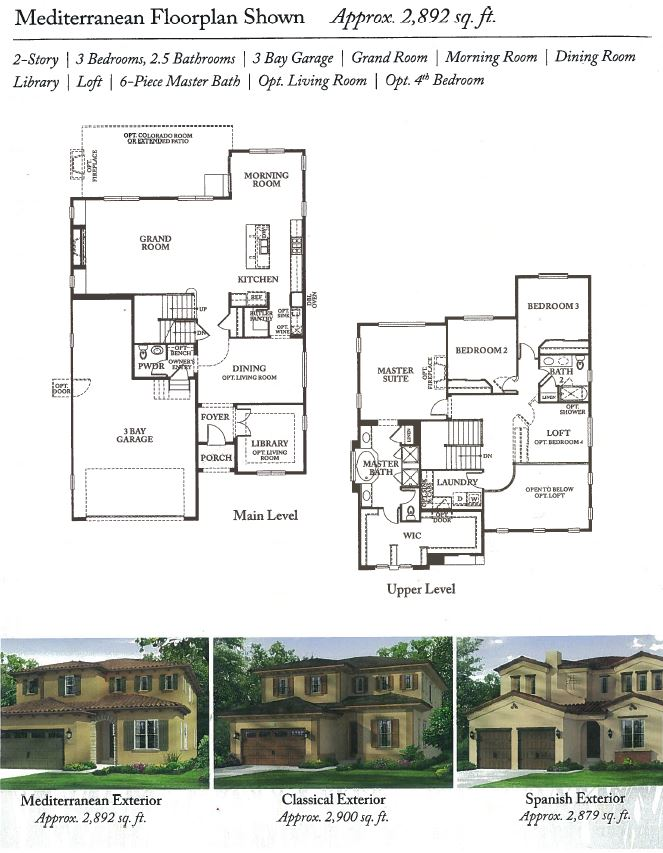 Residence 7640 of Montecito in RidgeGate of Lone Tree, CO