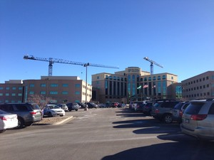 Sky Ridge Medical Center in RidgeGate at Lone Tree, CO