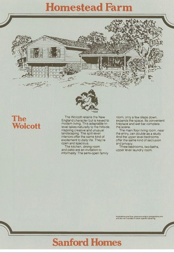 Wolcott Elevation Homestead