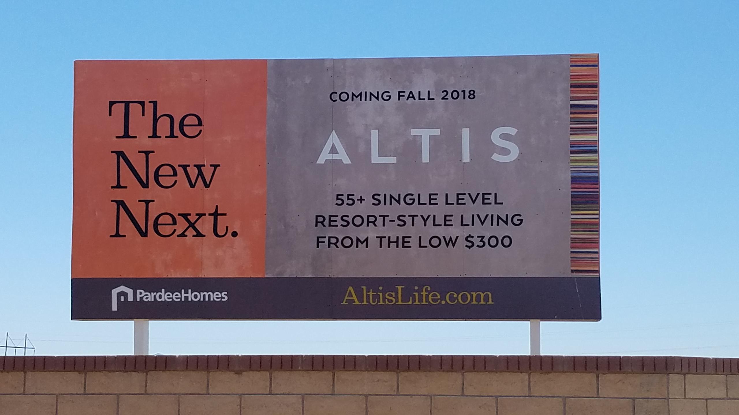 Altis 55+ Community in Beaumont, California