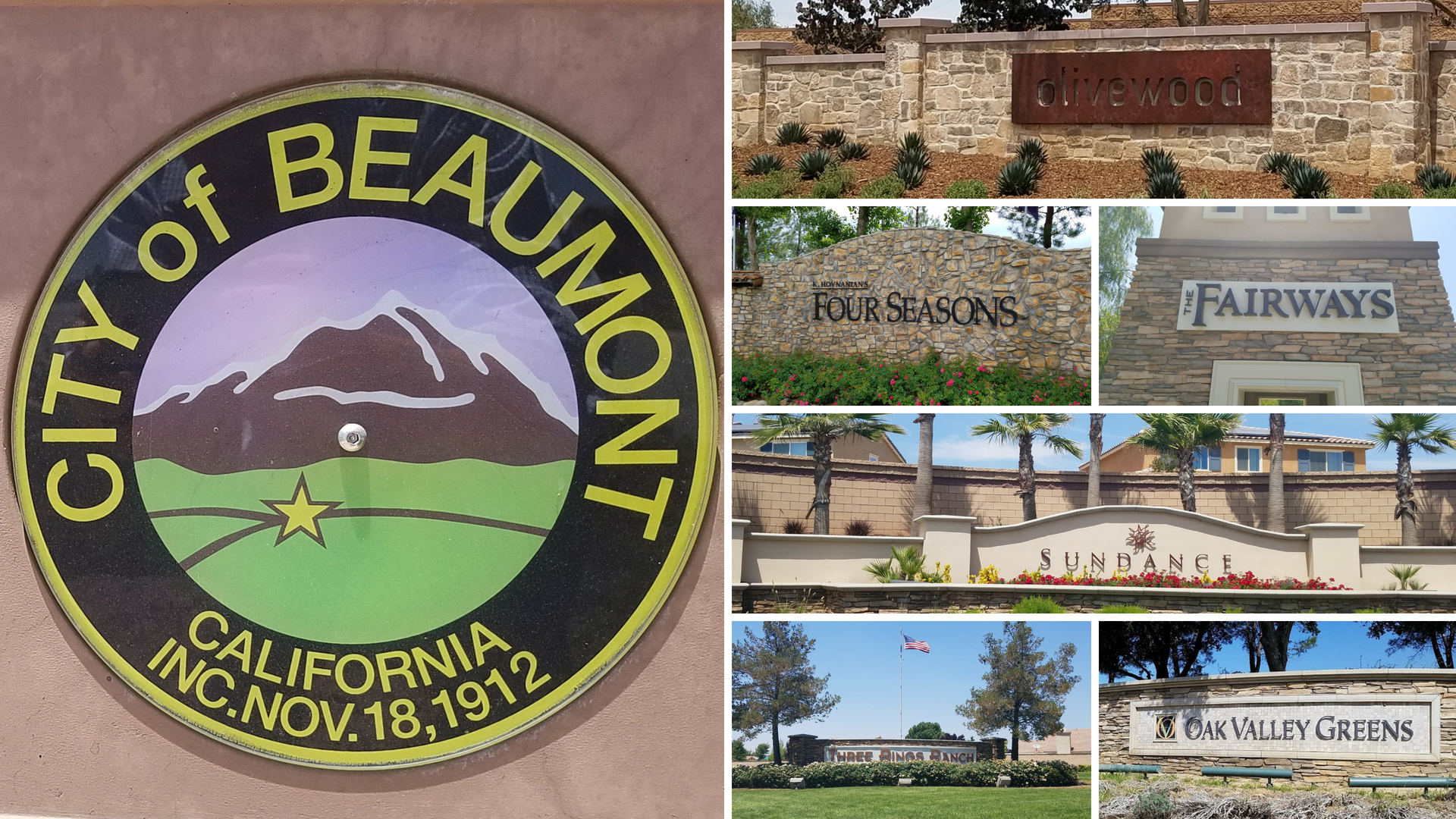 Communities in Beaumont, California