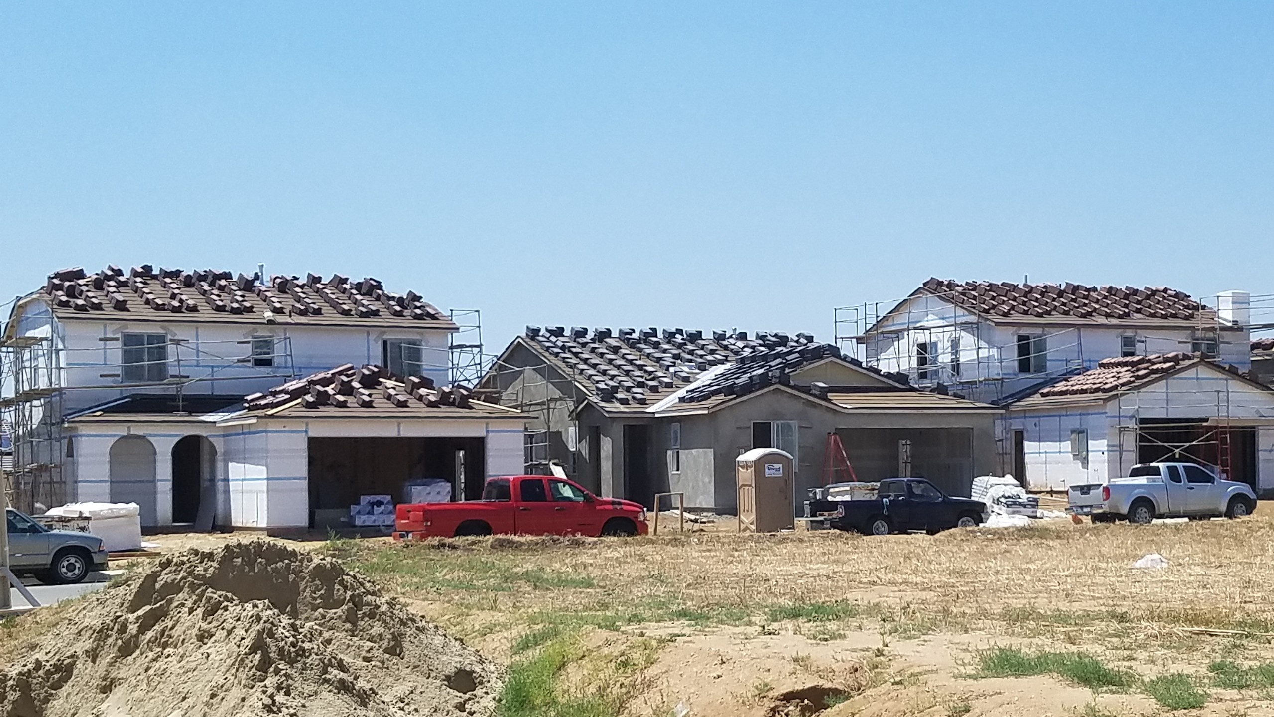 Construction in Beaumont, California