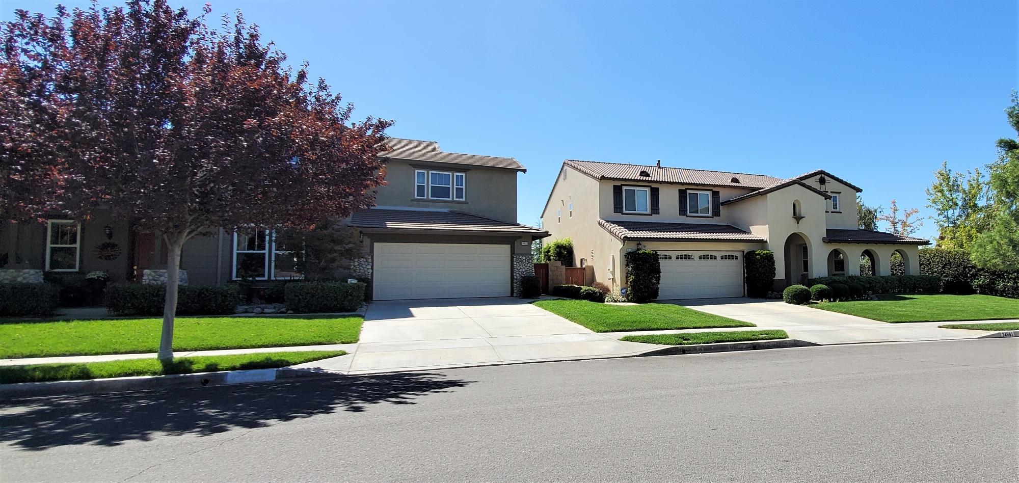 Homes in Chapman Heights in Yucaipa, California