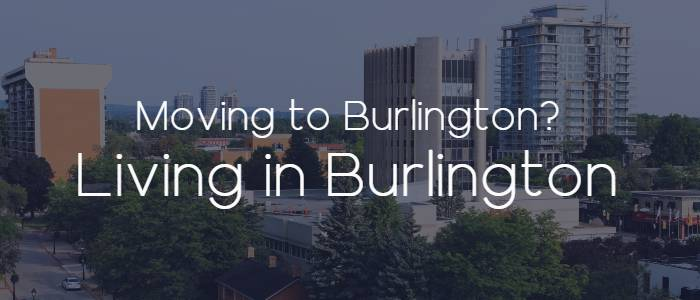 Moving to Burlington, Ontario