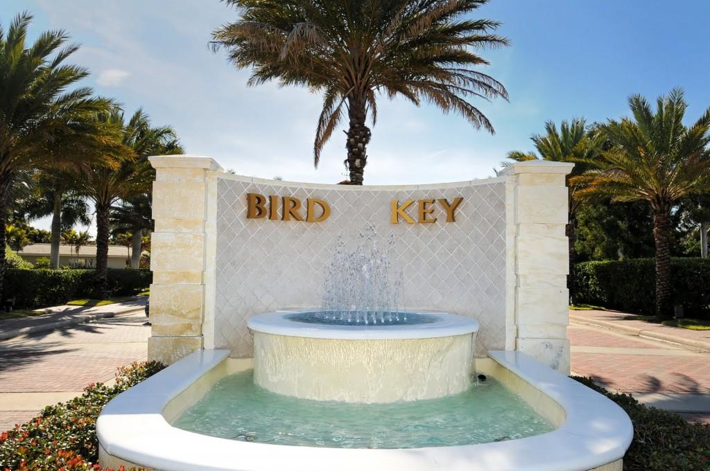 Bird Key Entrance Sign