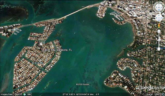 Bird Key Google Earth