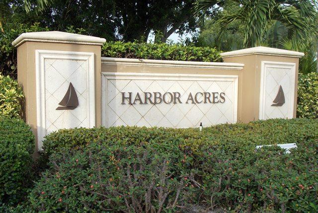 Harbor Acres Sign