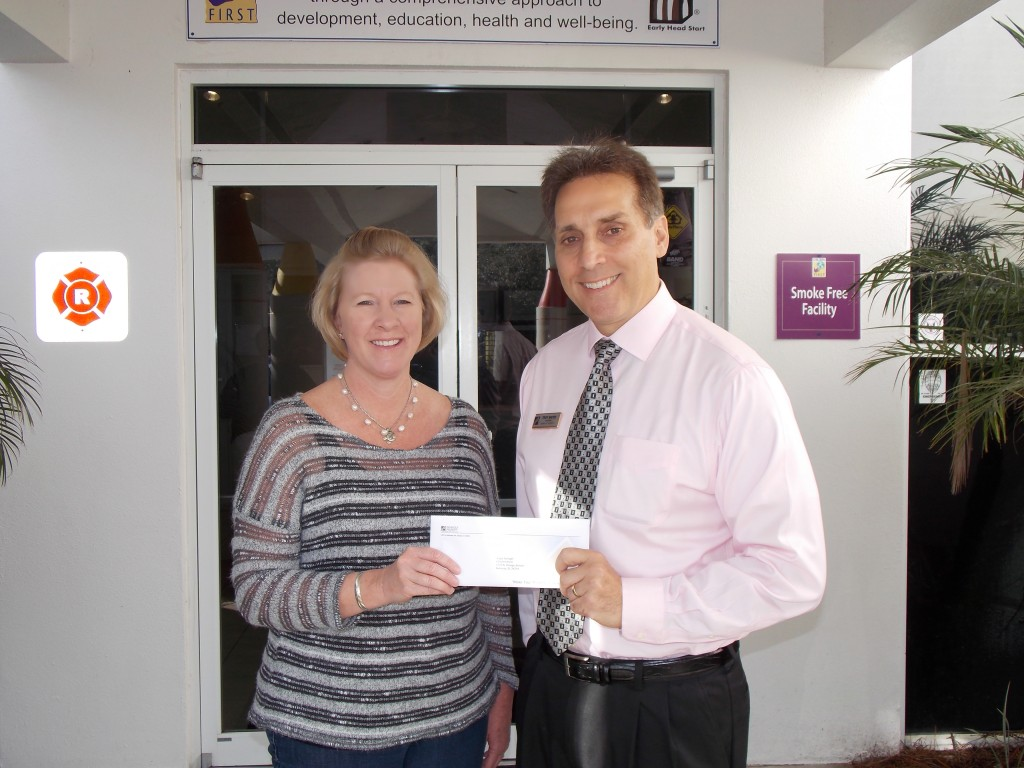 Children First Receives Donation from Generous Property