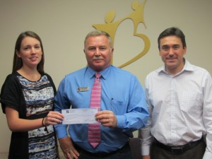 Generous Property Real Estate Agent makes Donation