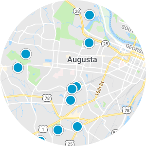 Augusta Real Estate Map Search