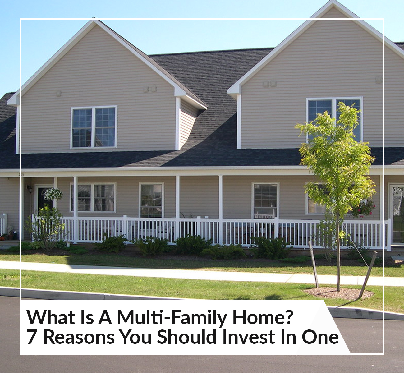 What is a multi-family home?