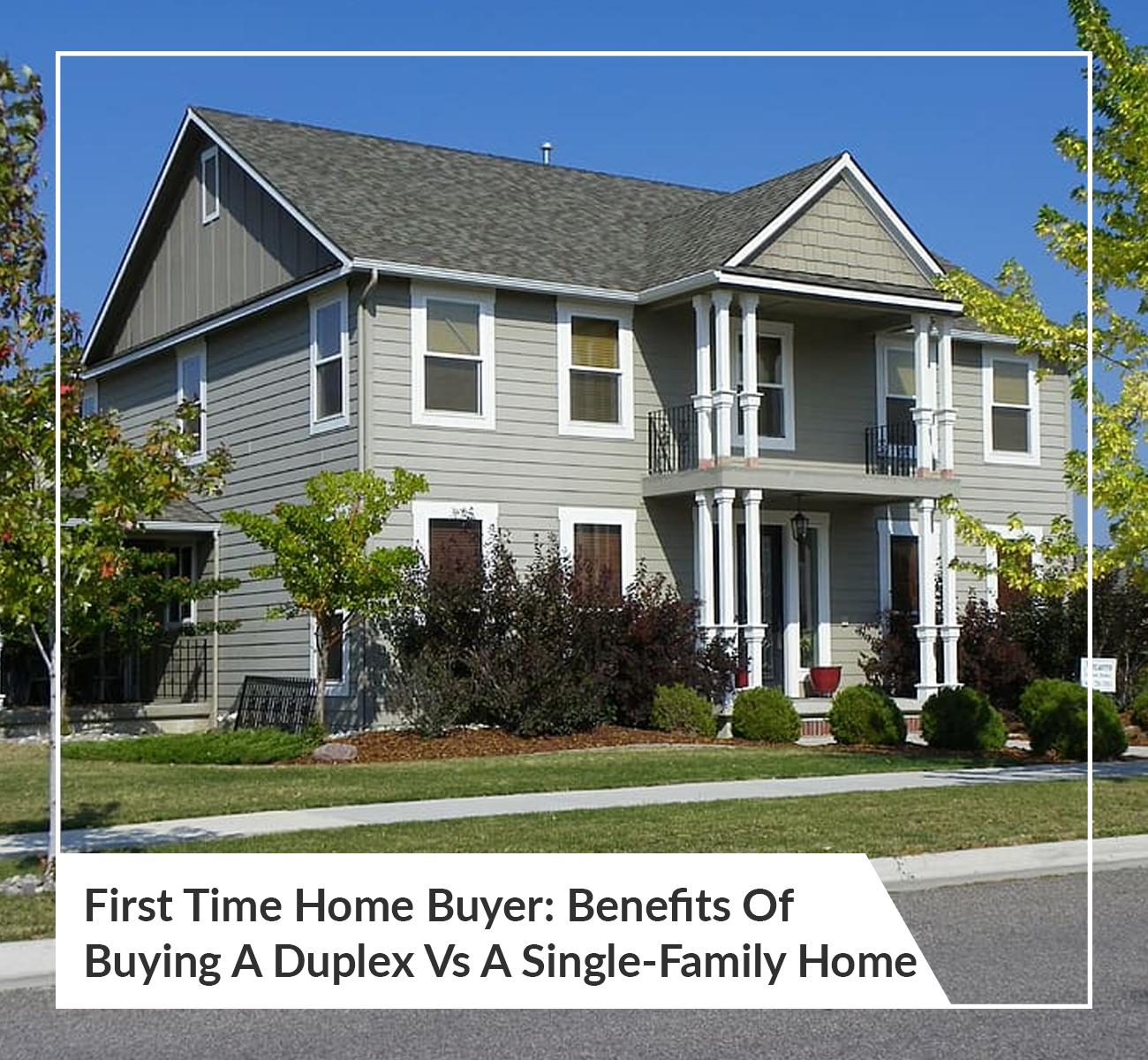 Duplex Vs Single-Family Home