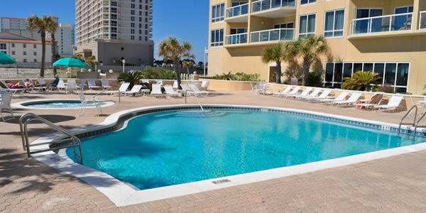Pool at Emerald Isle Resort