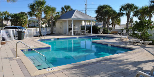 Pool at Gulf Island