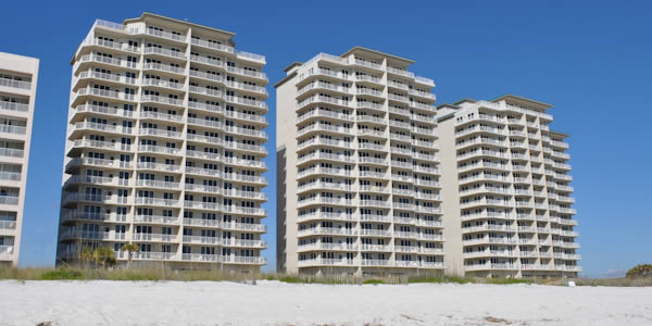Summerwind condo on the beach