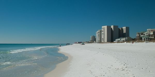 Condos on the beach in Destin