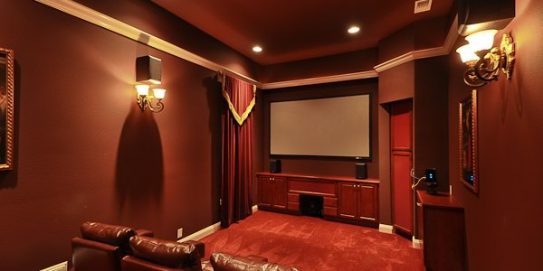 Home Theater in 1610 Smugglers Cove Circle