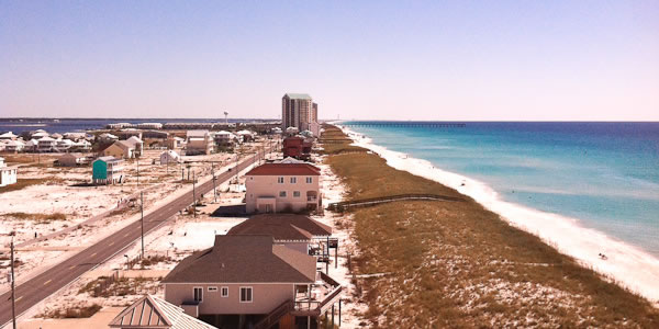 Navarre Beach homes and condos