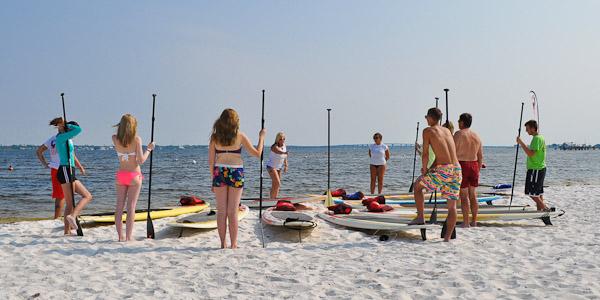 Pensacola Beach paddleboard class