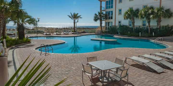 Pool at Beach Club Resort