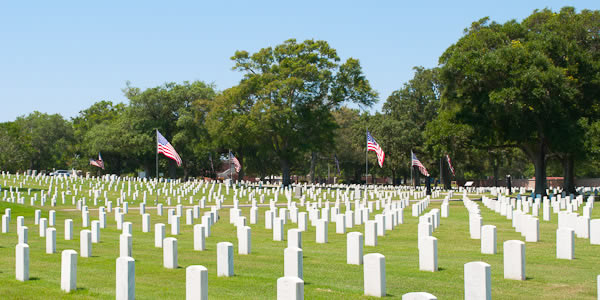 Barrancas National Cemetery NAS Pensacola