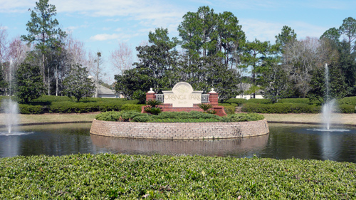 Orange Park Country Club Entrance
