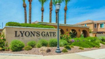 Lyons Gate Community Sign