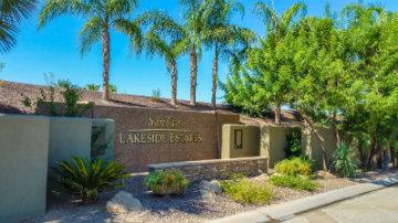 San Tan Lakeside Estates Community Sign