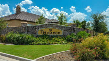 TH Ranch Community Sign