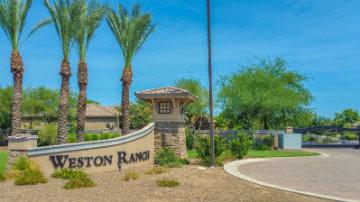 Weston Ranch Community Sign