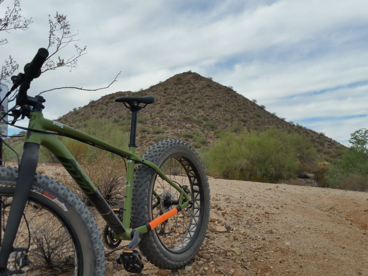 Fat Bike at San Tan