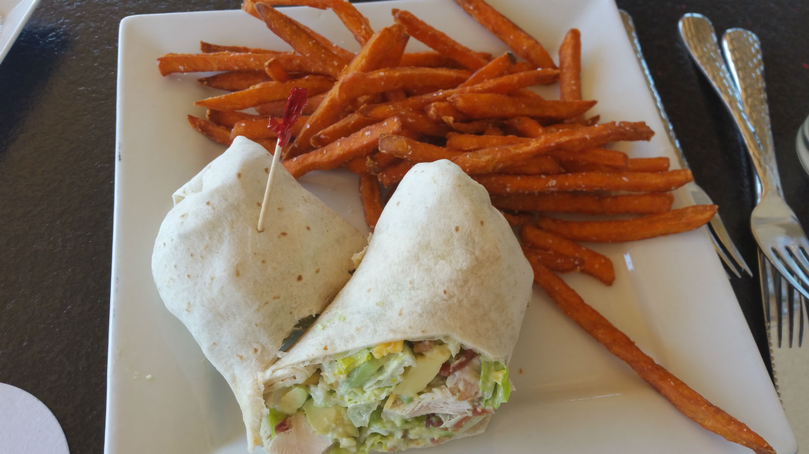 Boleros Restaurant-Southwest Chicken Wrap