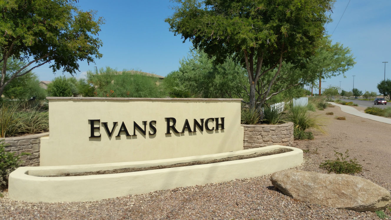 EVANS RANCH GILBERT AZ