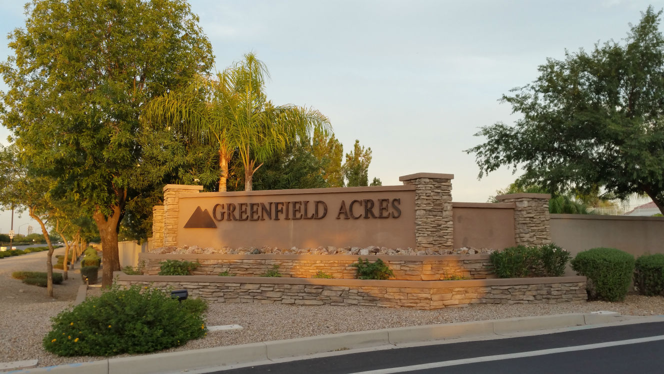 GREENFIELD ACRES GILBERT AZ