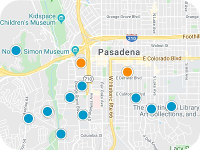 San Gabriel Valley Real Estate Map Search