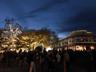 Christmas Lights on Main Street For Boerne Dickens on Main