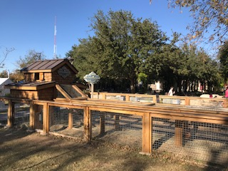 Chicken Coop at HemisFair Park