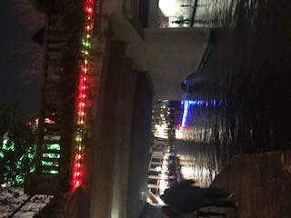 Christmas Lights at the Riverwalk San Antonio