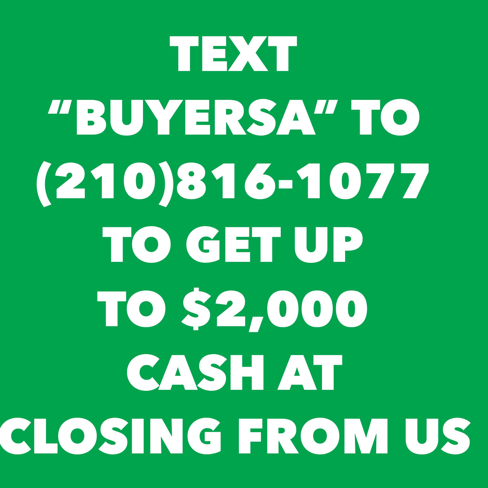 Home Buyer San Antonio TX