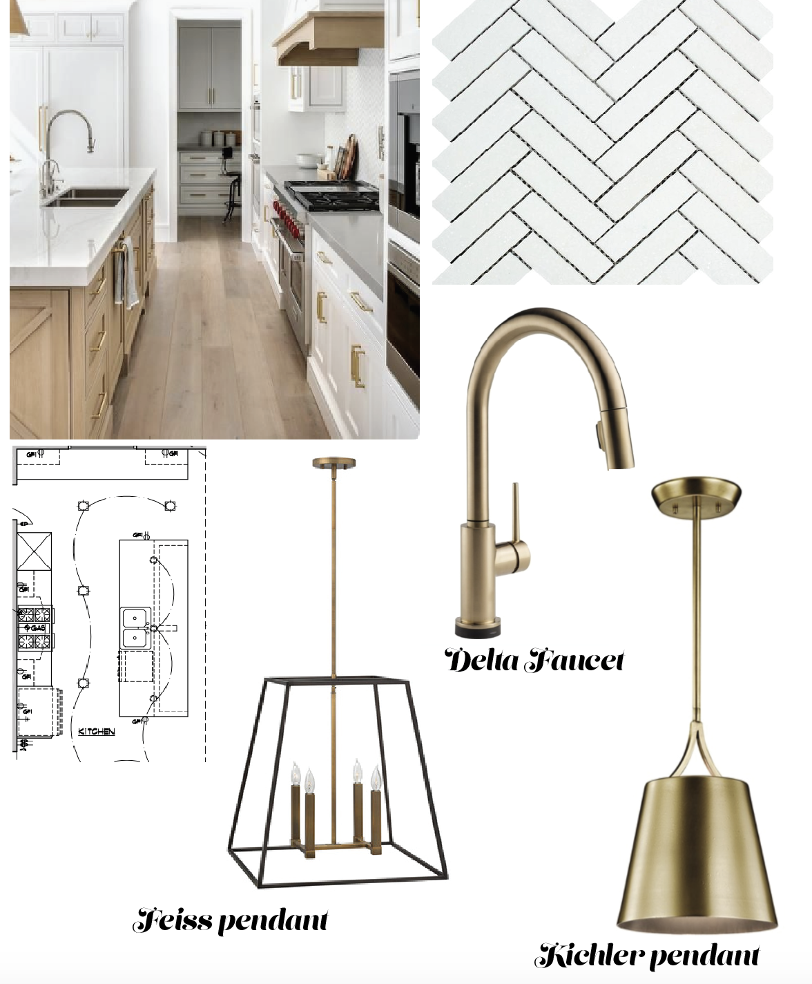 Kitchen concept board