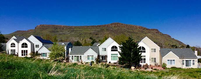 Mesa behind Canyon Point Villas in Golden Colorado