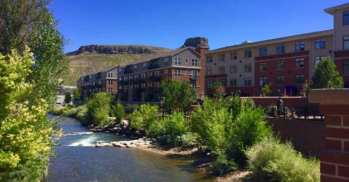 Millstone at Clear Creek Square condos for sale.