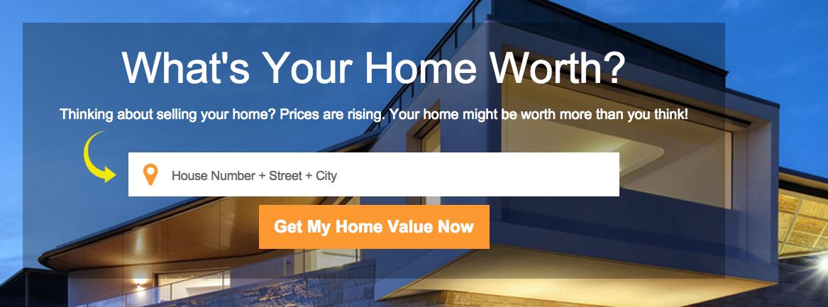 Get a home Evaluation