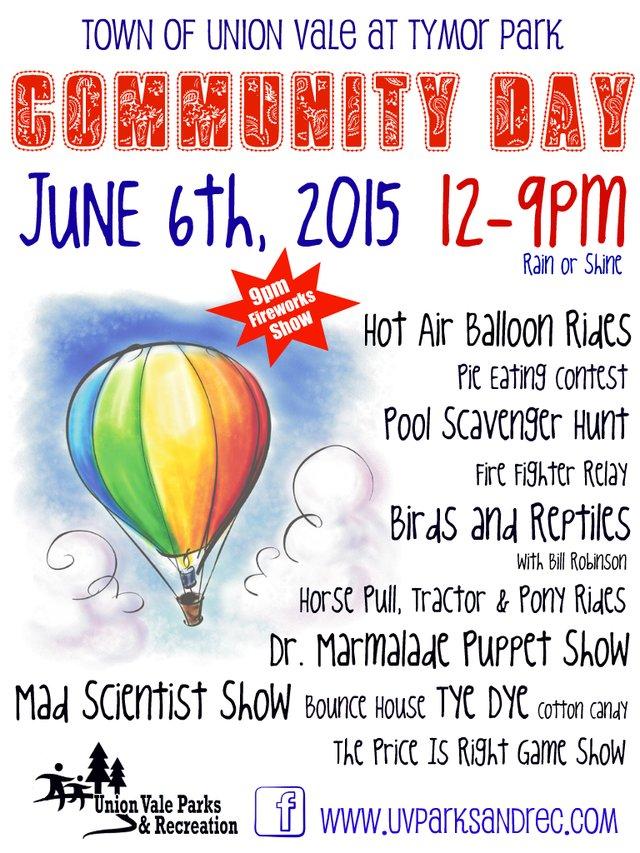 Union Vale Community Day 2015