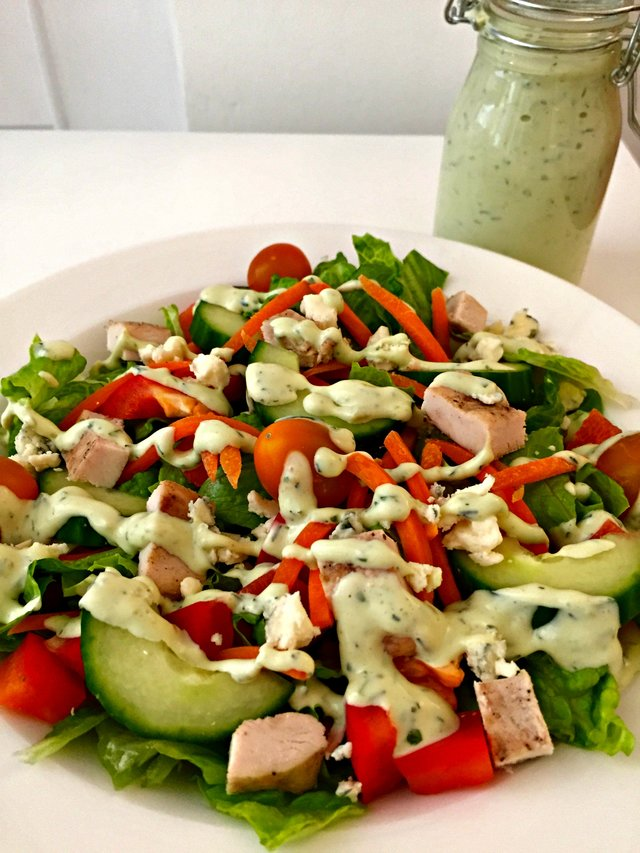 Avacado Ranch Salad Dressing