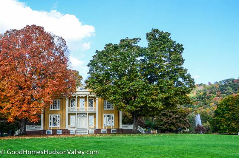 Garrison NY real estate photo of the Boscobel